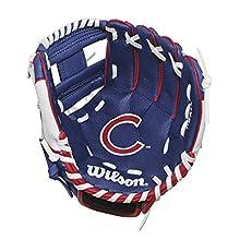 "Wilson A0200 Chicago Cubs Baseball Gloves, 10"""