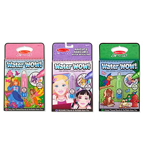 Melissa and Doug On the Go Water Wow Water Reveal Pads, S...