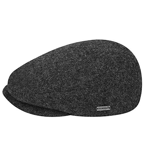 Kangol Men's British Peebles Flat Ivy Cap HAT, Dark Flannel, L ()