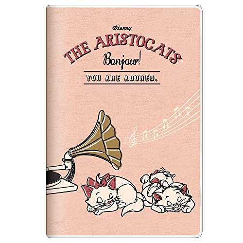 Disney Aristocats Marie 2018 Monthly Planner Notebook mini size 49010