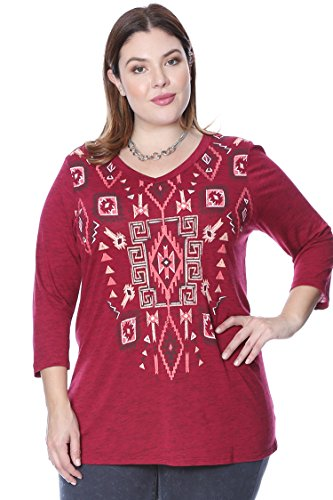 Plus Size Graphic Print Tunic product image