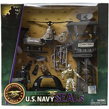 "Navy Seals 3.75/"" figures avec Combat Rubber Raiding Craft /& acces New in Box U.S 2"