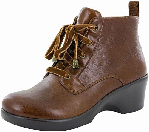 Alegria Womens Eliza Ankle Boot Chestnut Luster Size 35 EU (5-5.5 M US Women)