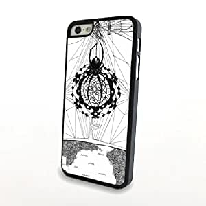 Generic Cartoon Dream Catcher PC Phone Cases fit for iPhone 5/5S Cases Plastic Skin Matte Hard Protective Cover Case