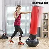 InnovaGoods ig116264Boxsack Fuß aufblasbar, Unisex Erwachsene, Rot, Einheitsgröße
