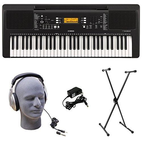 Yamaha PSR-E363 PKS Pack B07MKWZ4HW 61-Key Premium Keyboard Pack with Power Stand Headphones & Power Supply [並行輸入品] B07MKWZ4HW, マエバシシ:58f848eb --- kapapa.site