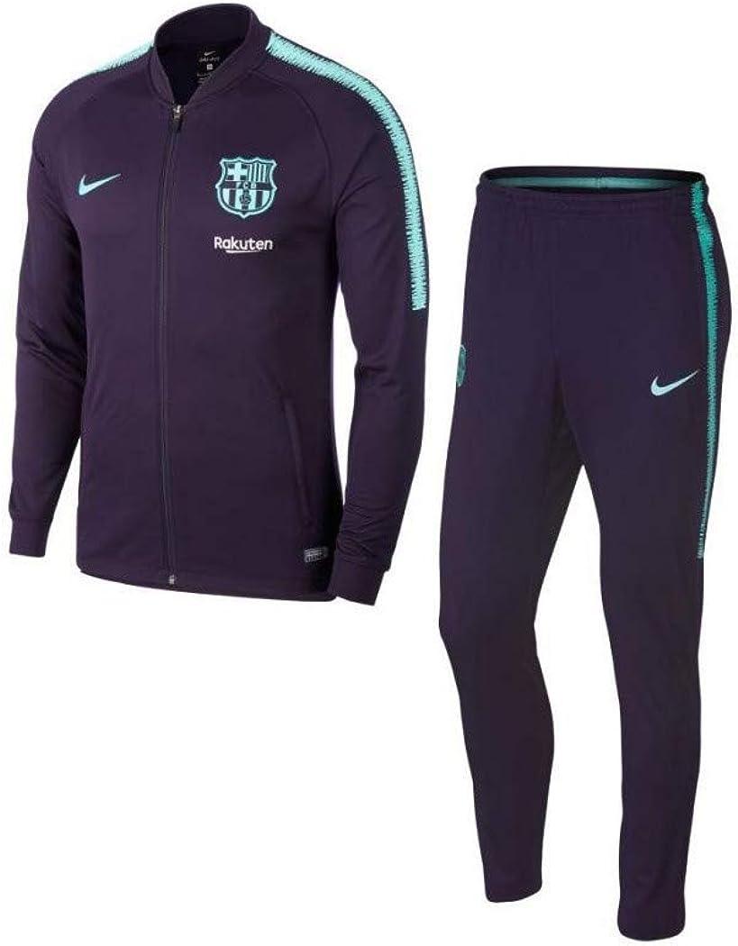 Nike FCB M Nk Dry Sqd K Chándal, Sin género: Amazon.es: Ropa y ...