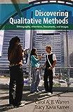 Discovering Qualitative Methods