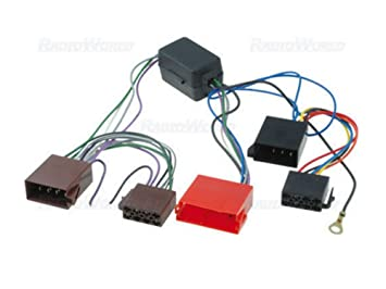 51DYhJT13mL._SX355_ audi a2 a3 a4 a6 a8 tt amplified wiring harness iso amazon co uk Wire Harness Assembly at n-0.co