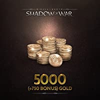 Middle-Earth: Shadow Of War: Middle-Earth: Shadow Of War 5000 (+750 Bonus) Gold - PS4 [Digital Code]