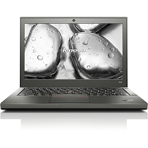 "Price comparison product image 2018 Lenovo ThinkPad X240 12.5"" Business Ultrabook Laptop Computer, Intel Core i7-4600U up to 3.3GHz, 8GB RAM, 128GB SSD, Bluetooth 4.0, USB 3.0, Windows 10 Pro (Certified Refurbished)"