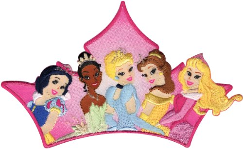 Wright's Disney Princess Iron On Applique Princess Group, - Disney Iron Princess