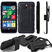 Nexus 5 2015/5X Case,Stanlance Swivel Belt Clip Holster Shell Cover with Kickstand [MILITARY GRADE] Heavy Duty Sturdy Rubber Armor Case for Google Nexus 5 2015/5X