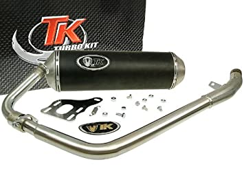 Turbo Kit - Escape Turbo Kit X-Road - Kymco Quannon 125: Amazon.es: Coche y moto