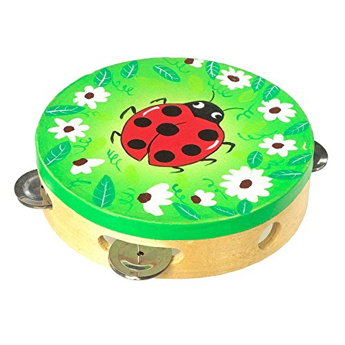 Small Foot Company - 7995 - Jouet Musical - Tambourin - Coccinelle