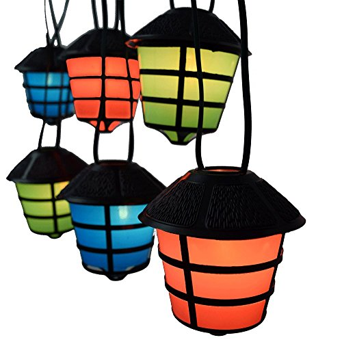 Price comparison product image RV Retro Coach Lantern Party String Lights - Camper String Lights