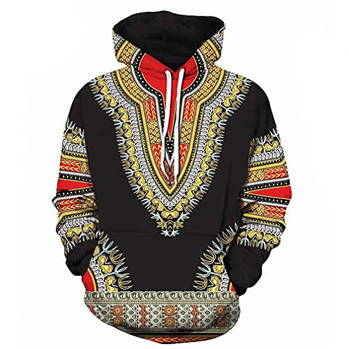 Amazon.com: Unisex 3D Printed Hoodies Pullover Hooded Sweatshirt 3D Traditional Print Hoodies Men Women Fashion African Dashiki Hoodie Sweatshirts Men Hip ...