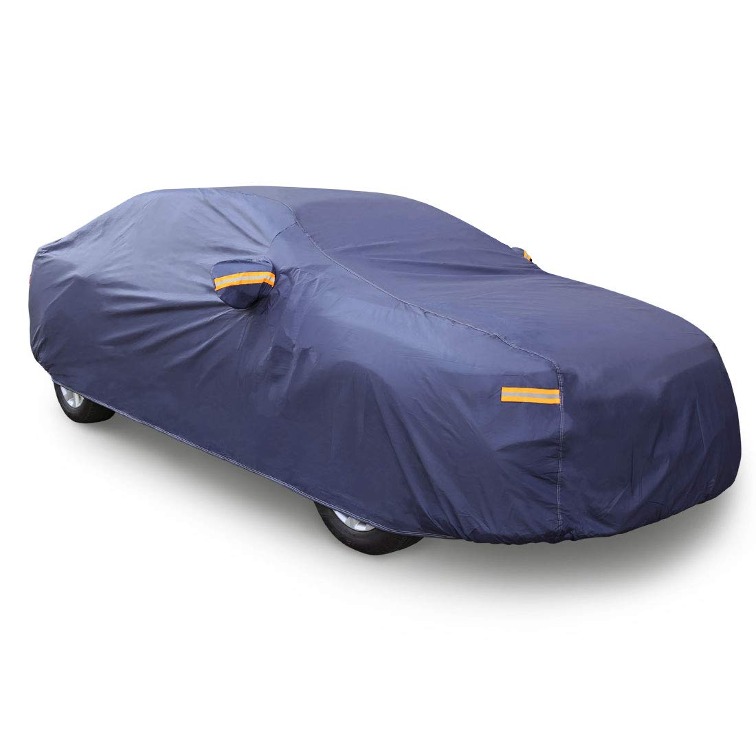 Sourcingmap 3XL Waterproof Breathable Full Car Cover Sun UV Snow Protection