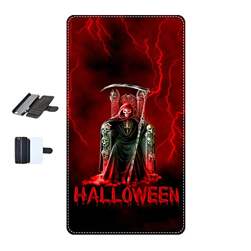 Housse Iphone 4-4s - Halloween faucheuse rouge