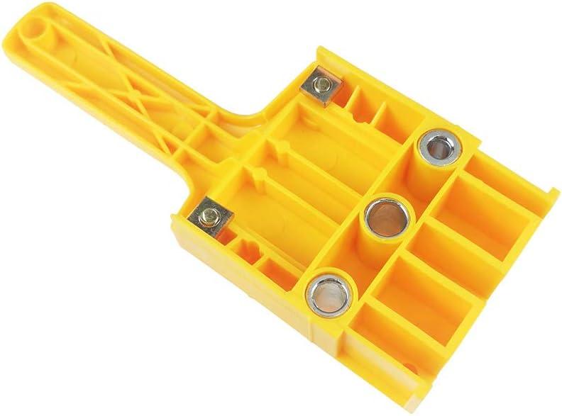Lot de 6 gabarits de cheville 8 10 mm pour menuiserie Outil de travail du bois perforateur professionnel Foret de per/çage professionnel DIY Limit Ring sy Operate Wrentch Locator