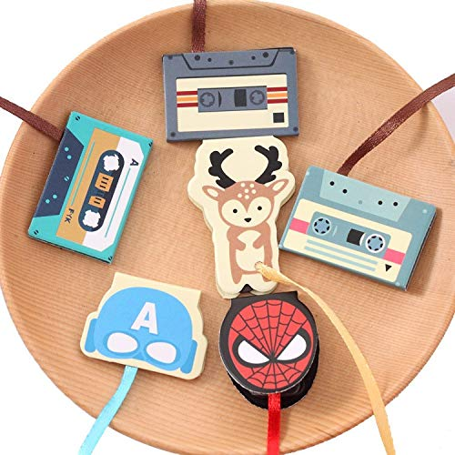 ST Cute Animal Magnetic Mini Ribbon Bookmark