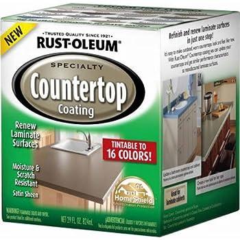 Rust Oleum 246068 Quart Interior Countertop Coating 1 Qt