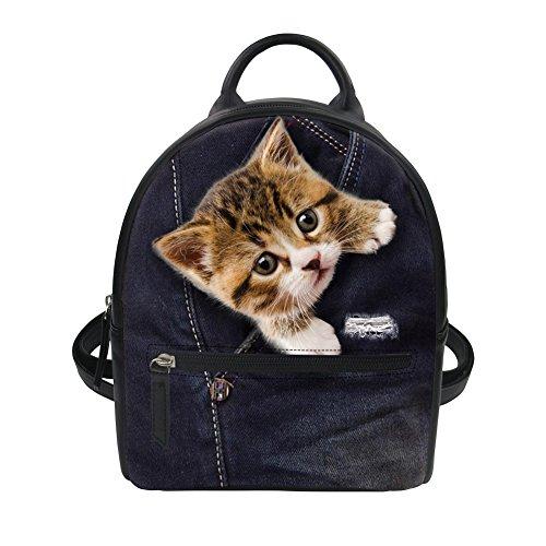 Kitten cc3316z4 Carlino Daily Hugs Backpack Idea And black BvgOY
