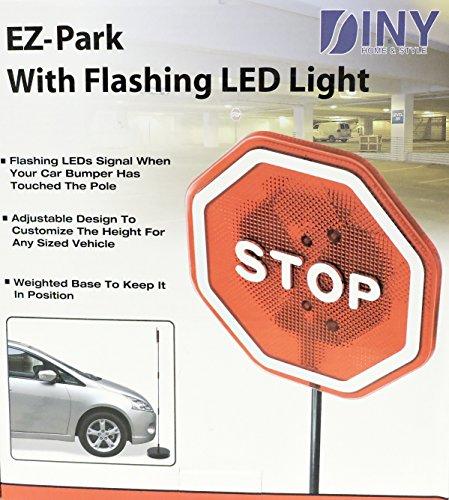 EZ-Park Safety Garage Parking Signal Flashing Stop Sign O...