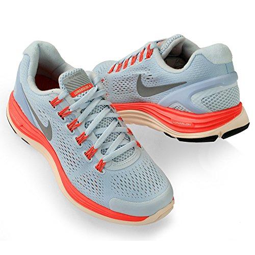 Azul Correr Nike Escudo Lunarglide 4 Mujer Zapatillas Claro Para xWxHZq0Rw