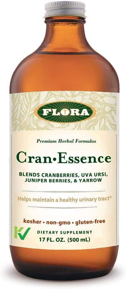 Flora Cranberry Urinary Tract Health Supplement, 17 oz – Cran Essence – Supports Healthy Urinary Tract Bladder