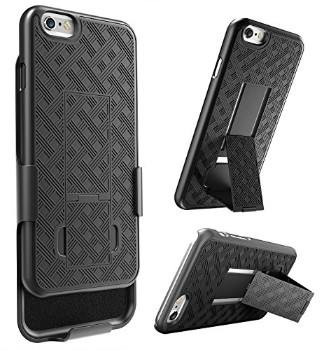 E LV Armor Holster Defender Case Cover with Kickstand and Be