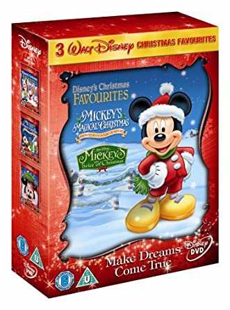 Mickey Mouse Twice Upon A Christmas Dvd.Mickey S Twice Upon A Christmas Mickey S Magical Christmas