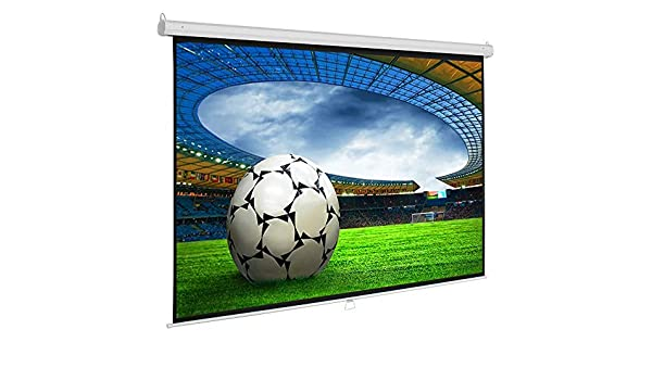 SlenderLine - Pantalla para proyector (220 x 220 cm, Formato 1:1 ...