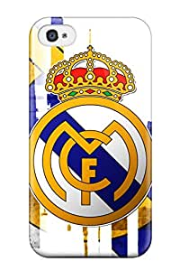 Premium [FoSGkqZ7698ODnbV]real Madrid Fc Logo Case For Iphone 4/4s- Eco-friendly Packaging