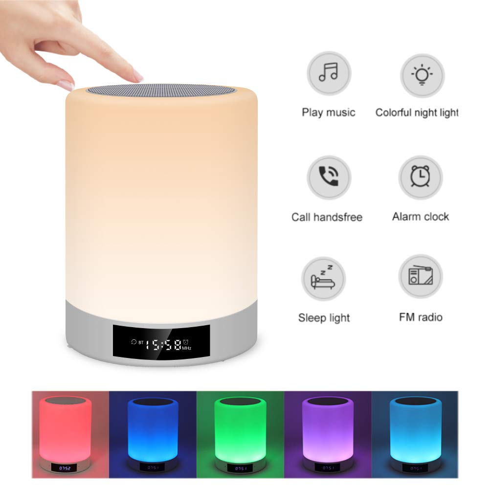 Small portable LED Lamp with Various Colors