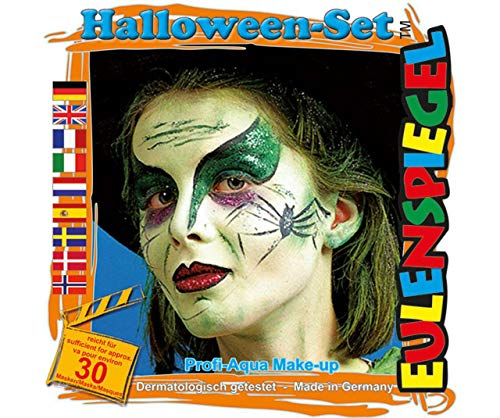Set of Paint Colors for Face - Halloween, Eulenspiegel, EU 204337]()