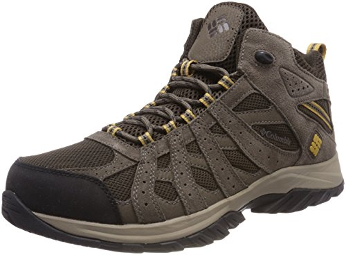 COLUMBIA Men's Hiking Shoes, CANYON POINT MID Waterproof, Brown (Cordovan,...