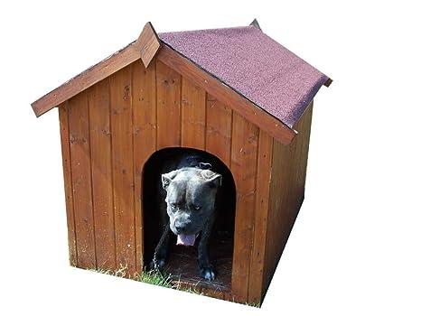 Caseta de perro bi-pente para grandes perros/1,56 M2/techo