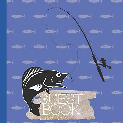 Guest Book: Fishing Baby Shower Guest Book ()