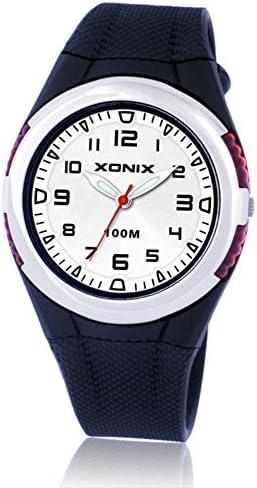 子供用腕時計 学生 防水 女の子 男の子 クォーツ ポインター 腕時計 C