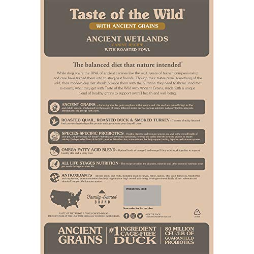 51DYpG9Yf0L. SS500  - Taste of the Wild Roasted Fowl
