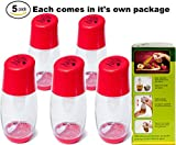 Ideal Kitchen Bundle Olive Oil Sprayer Mister - 5-Pack - Red