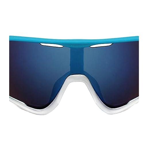 ZCFX Sport da Equitazione all'aperto,Occhiali da Sole da Bici,Vento e Polvere,Protezione Dai Raggi UV,Occhiali da Sole da Uomo,Occhiali da Equitazione,YJ11