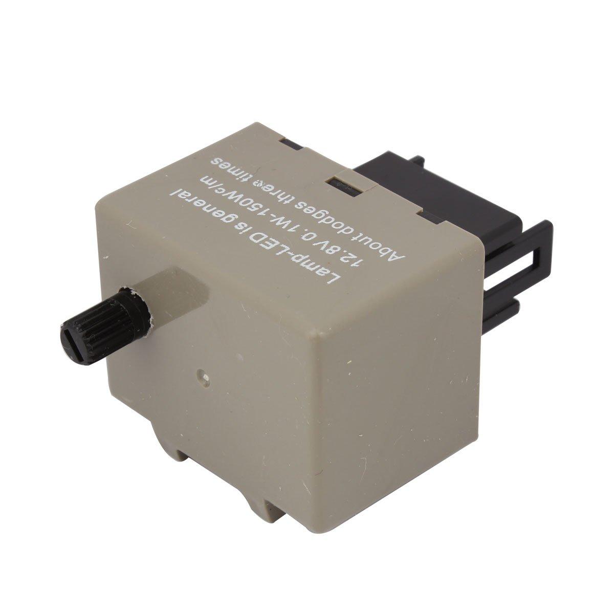 TOMALL 3Pin LED Segnali di direzione lampeggiante elettronico Rel/è lampeggiante CF13 JL-02 EP34 per LED 12V 0.02A-20A