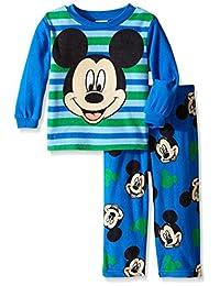 Disney Little Boys' Mickey Mouse 'A Friendly Face' 2-Piece Pajama Set