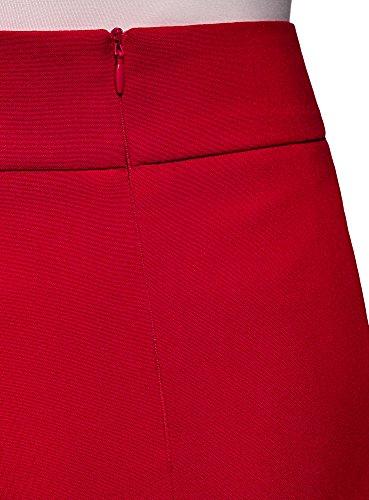 Rouge4500n Jupe Ultra Courte Basique Oodji Femme ZuTXOPki