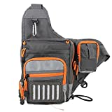 M MAXIMUMCATCH Maxcatch V-Cross Shoulder Bag Multifunction Fishing Sling Pack