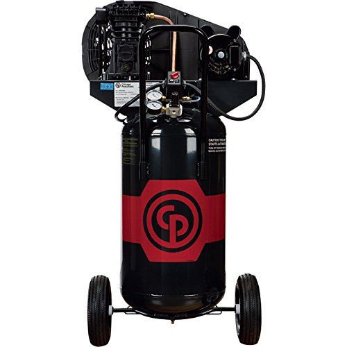 - Chicago Pneumatic Reciprocating Air Compressor - 2 HP, 26 Gallon, 115/230 Volt, 1-Phase, Model# RCP-226VP 115-230V/1 -  RCP226VP