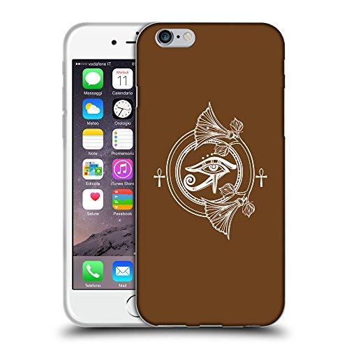 "GoGoMobile Coque de Protection TPU Silicone Case pour // Q09820633 Religion 22 Sépia // Apple iPhone 6 PLUS 5.5"""