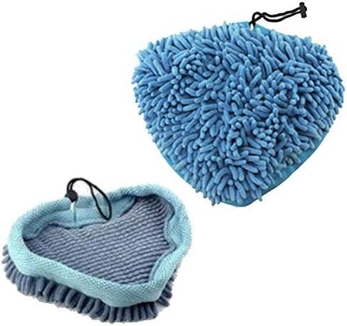 2 in Microfibra Corallo Scopa A Vapore Pads per Aldi EASY HOME 59322 1500W STEAM CLEANER